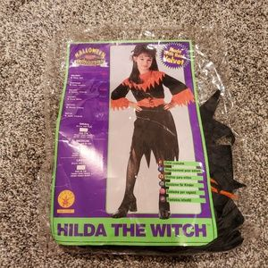 Hilda the Witch Halloween Costume M 8-10
